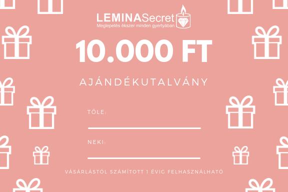 LeminaSecret Ajándékutalvány 10000 Ft