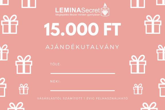 LeminaSecret Ajándékutalvány 15000 Ft