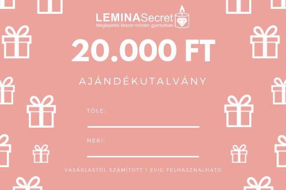 LeminaSecret Ajándékutalvány 20000 Ft