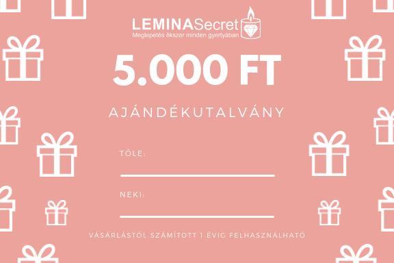 LeminaSecret Ajándékutalvány 5000 Ft
